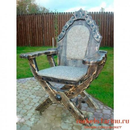 """Кресло под старину из массива дерева """"Грабко"""""""
