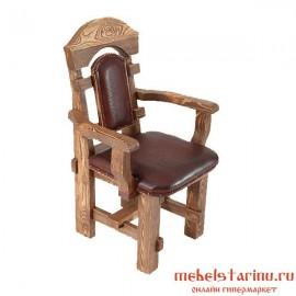 """Кресло под старину из массива дерева """"Живко"""""""