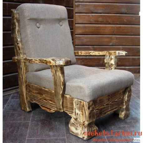 """Кресло под старину из массива дерева """"Житко"""""""