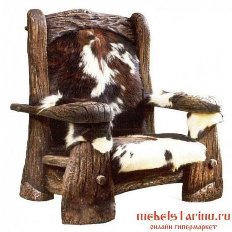 """Кресло под старину из массива дерева """"Жито"""""""
