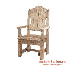 "Кресло под старину из массива дерева ""Звонило"""