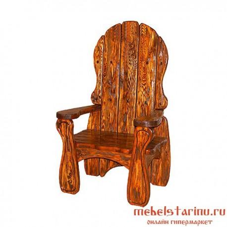 """Кресло под старину из массива дерева """"Здышко"""""""