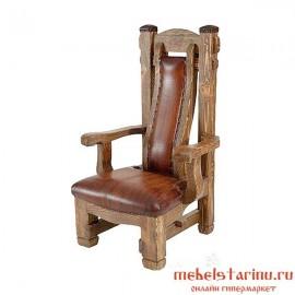 """Кресло под старину из массива дерева """"Инго"""""""