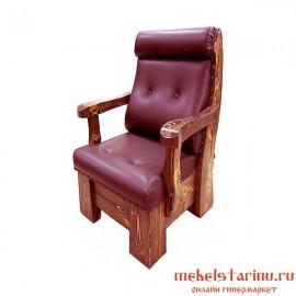 """Кресло под старину из массива дерева """"Колотило"""""""