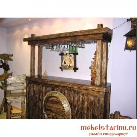 """Барная стойка под старину из массива дерева """"Держена"""""""