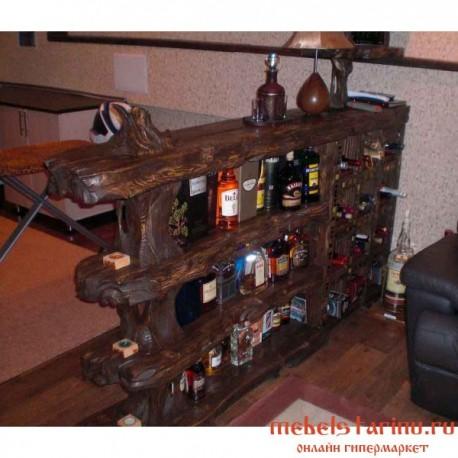 "Мини-бар под старину из массива дерева ""Бодин"""