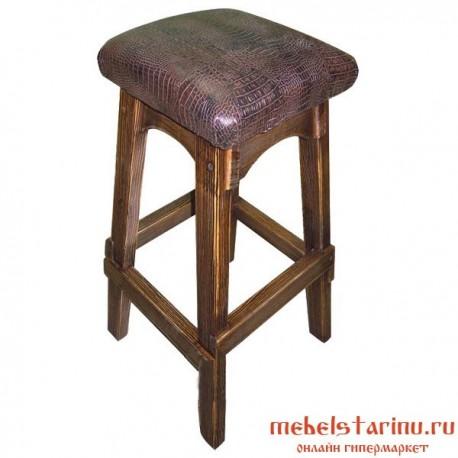 """Барный стул под старину из массива дерева """"Братислав"""""""
