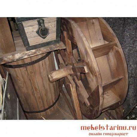 """Водяное колесо под старину из массива дерева """"Вячко"""""""
