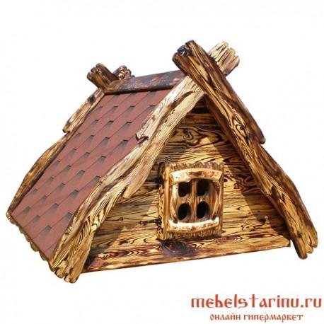 """Крышка на колодец под старину из массива дерева """"Любомила"""""""