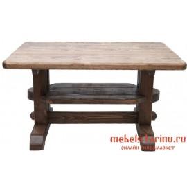 """Стол под старину из массива дерева """"Тихомил"""""""