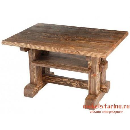 """Стол под старину из массива дерева """"Требибор"""""""