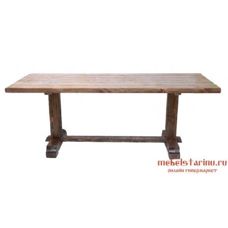 """Стол под старину из массива дерева """"Потучик"""""""