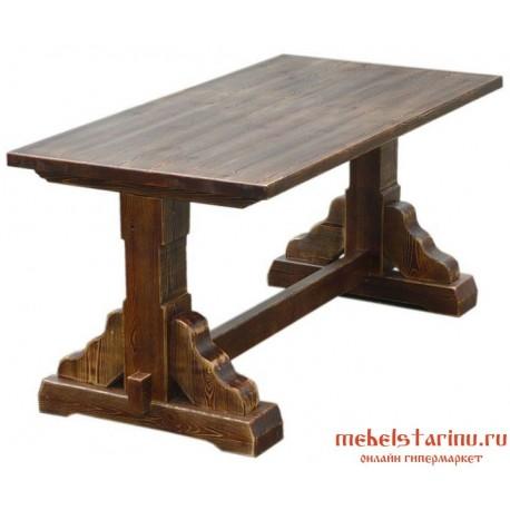 "Стол под старину из массива дерева ""Примак"""