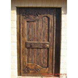"""Дверь под старину из массива дерева """"Доброока"""""""