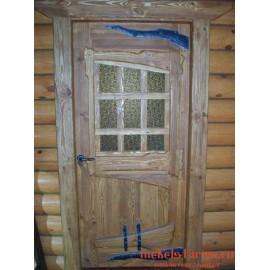 """Дверь под старину из массива дерева """"Додола"""""""