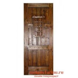 """Дверь под старину из массива дерева """"Драгомила"""""""