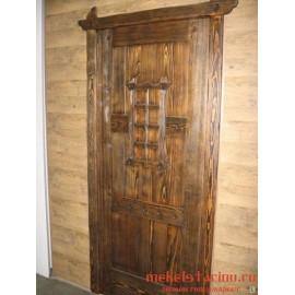 """Дверь под старину из массива дерева """"Драгослава"""""""
