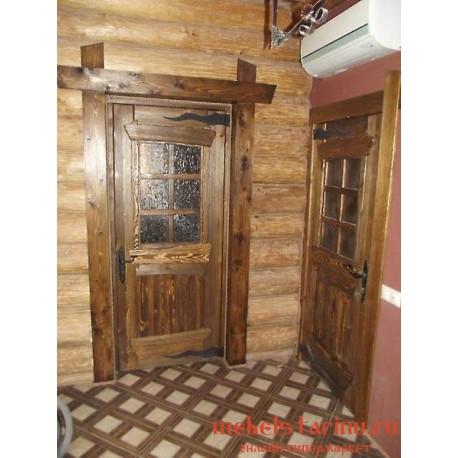 """Дверь под старину из массива дерева """"Желя"""""""