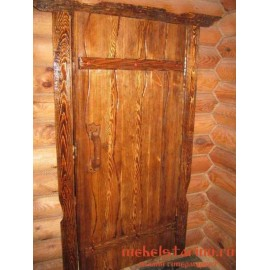"""Дверь под старину из массива дерева """"Збышка"""""""