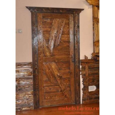"""Дверь под старину из массива дерева """"Зната"""""""