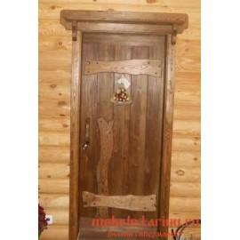 """Дверь под старину из массива дерева """"Ильмера"""""""