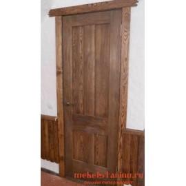 """Дверь под старину из массива дерева """"Ирия"""""""