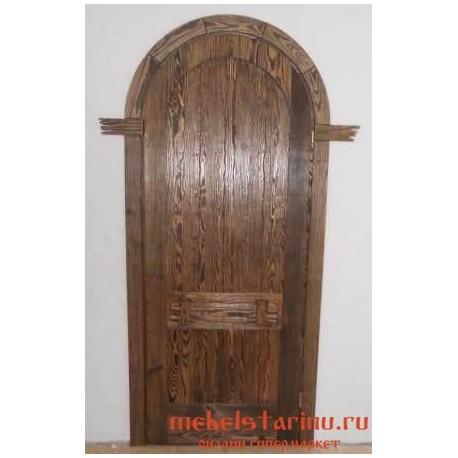 """Дверь под старину из массива дерева """"Иста"""""""