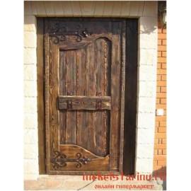 """Дверь под старину из массива дерева """"Казимира"""""""