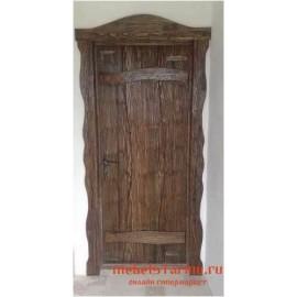 """Дверь под старину из массива дерева """"Каролина"""""""