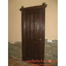 """Дверь под старину из массива дерева """"Красава"""""""