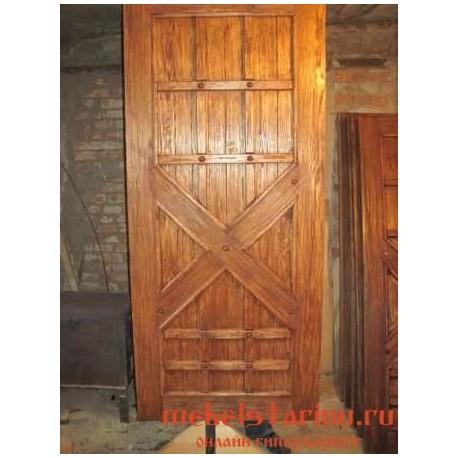 """Дверь под старину из массива дерева """"Магуша"""""""