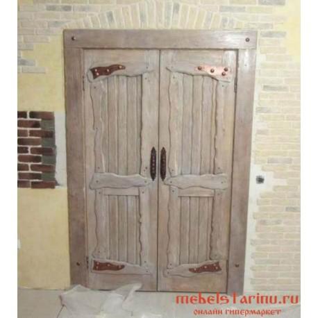 """Дверь под старину из массива дерева """"Генка"""""""