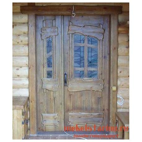 """Дверь под старину из массива дерева """"Гита"""""""