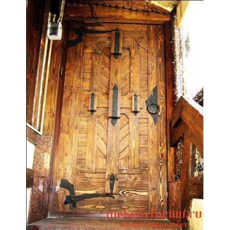 """Дверь под старину из массива дерева """"Гребета"""""""
