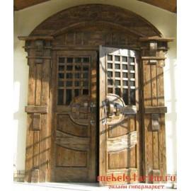 """Дверь под старину из массива дерева """"Грознега"""""""