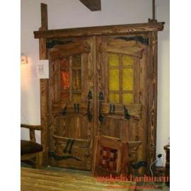 """Дверь под старину из массива дерева """"Избава"""""""