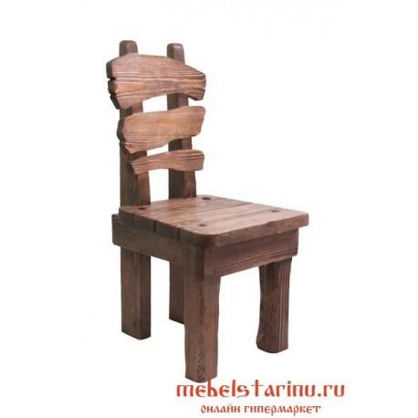 """Стул под старину из массива дерева """"Лехослав"""""""