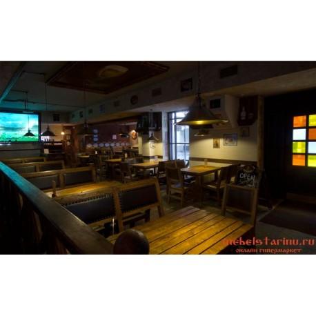 """Мебель для кафе, ресторанов под старину из массива дерева """"Зната"""""""