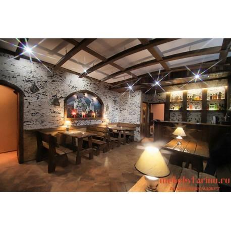 """Мебель для кафе, ресторанов под старину из массива дерева """"Златослава"""""""