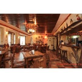 """Мебель для кафе, ресторанов под старину из массива дерева """"Казя"""""""