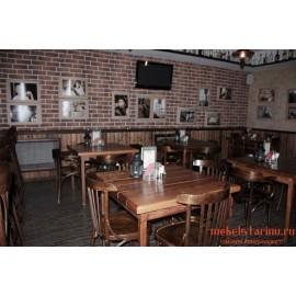 """Мебель для кафе, ресторанов под старину из массива дерева """"Каталена"""""""