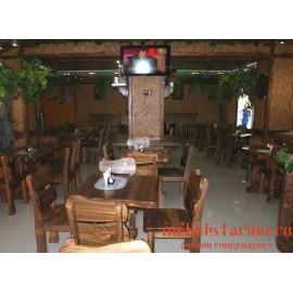 """Мебель для кафе, ресторанов под старину из массива дерева """"Квасена"""""""