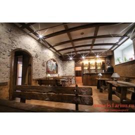"""Мебель для кафе, ресторанов под старину из массива дерева """"Крайсава"""""""