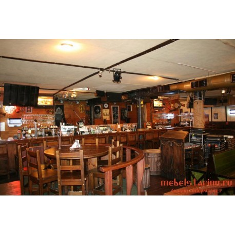"""Мебель для кафе, ресторанов под старину из массива дерева """"Люнега"""""""