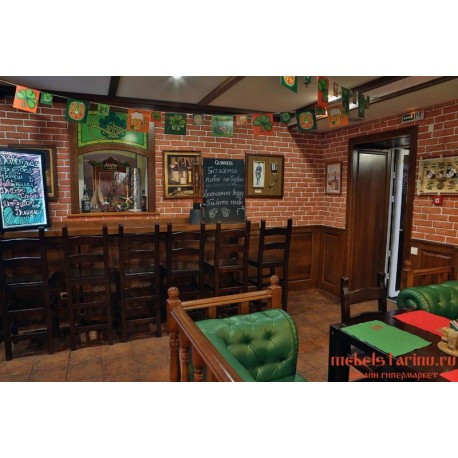 """Мебель для кафе, ресторанов под старину из массива дерева """"Милислава"""""""