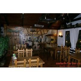 """Мебель для кафе, ресторанов под старину из массива дерева """"Миронега"""""""