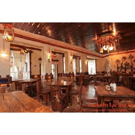 """Мебель для кафе, ресторанов под старину из массива дерева """"Премила"""""""