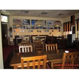 """Мебель для кафе, ресторанов под старину из массива дерева """"Раска"""""""