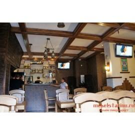 """Мебель для кафе, ресторанов под старину из массива дерева """"Рознега"""""""