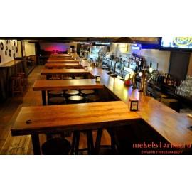 """Мебель для кафе, ресторанов под старину из массива дерева """"Рослава"""""""